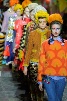Meadham Kirchhoff Fall 2012- I would wear all of these..