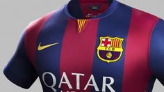New home kit for season 2014-15 #FCBarcelona #FCB #Shop #Store