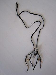 ECOSPHERE - Freedom Necklace, handmade in Sweden from reclaimed and recycled materials. Bohemian! Halsband av återvunna och återbrukade material, handgjort av Free Spirit Shaking Soul. Slow fashion / sustainable fashion / Hållbart mode.
