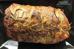 Karkówka a'la porchetta Steak, Food, Meals, Steaks, Beef