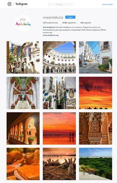 Vive Andalucía (@viveandalucia) perfil Instagram. Promoción turística de destinos