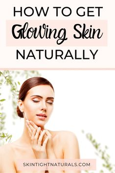 How To Have Glowing Skin - Add These 7 Foods To Your Diet For Naturally Radiant Skin! Glowing skin starts on the inside. Change your diet, change your skin! Skin Secrets, Skin Tips, Skin Care Tips, Anti Aging Skin Care, Natural Skin Care, Natural Beauty, Radiant Skin, Flawless Skin, Skin Problems
