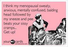 The perils of menopause lol