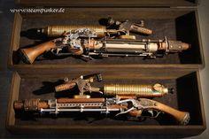 Steampunk Nerf Blasters: Modifying Toy Guns into Retro-Futuristic Weapons