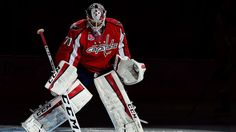 Braden Holtby of the Washington Capitals stands in his goal crease before the start of in Game 6 of the Eastern Conference Semifinals against the New York Rangers during the 2015 Stanley Cup Playoffs at Verizon Center. Holtby's agent told The Washington Post on Sunday that he expects the sides to agree on a multiyear extension at some point this summer. (Photo by Patrick McDermott/NHLI)
