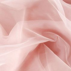 Nylon Chiffon Tricot Light Pink from @fabricdotcom  This nylon chiffon tricot is sheer and has a lot of drape with 20% stretch across the grain.  It does a lot of interesting special effects when layered. It is most recently become popular during to the little girls super-full, super-layered petticoats. It is also used in lingerie.