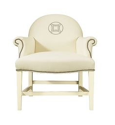 Oxford Pull-Up Chair from the Upholstery collection by Hickory Chair Furniture Co.