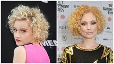 If you have curly hair, short hair can be tricky. These short, curly hairstyles prove that you can look great with super curly hair cut above the shoulders.: Julia Garner and MyAnna Buring