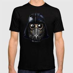Star Darth lord Vader gas mask T-SHIRT #clothing #tee #tshirt #painting #digital #watercolor #ink #3d #comic #illustration #starlord #guardiansofthegalaxy #darthvader #darthmaul #theforce #thesith #jedi #hansolo #r2d2 #yoda