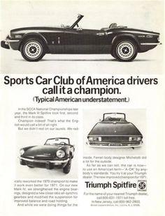 =-=1971 TRIUMPH Spitfire ~ SCCA National Championships
