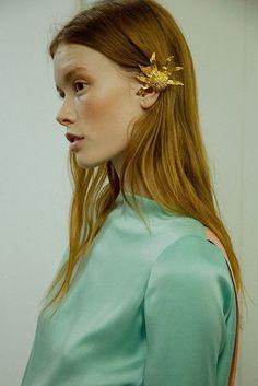 large gold ear cuff