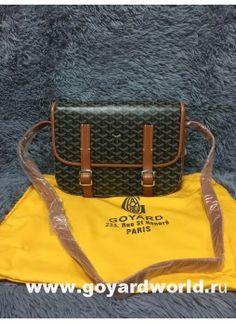 Goyard Sac Belvedere Messenger Bag Tan
