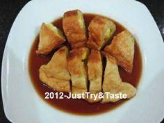 Just Try & Taste: Pempek Dos: Pempek Gurih Walau Tanpa Ikan Snack Recipes, Snacks, Indonesian Food, Catering, French Toast, Food And Drink, Chips, Breakfast, Palembang