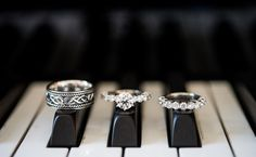 12 Creative Ways to Photograph Your Wedding Rings | https://www.theknot.com/content/12-creative-ways-to-photograph-your-wedding-rings