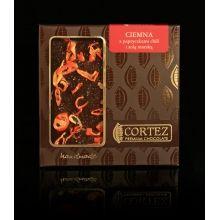 Czekolada Cortez z chili i solą morską #czekolada #cortez #chocolate #chilli #salt