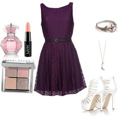 A midnight date by mustachemaniac03 on Polyvore featuring polyvore fashion style Mela Loves London Missguided Bobbi Brown Cosmetics NYX
