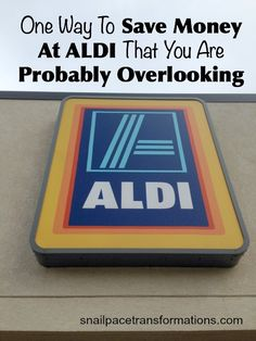 You know that simply shopping at ALDI can save you money but do you know this small extra step that can save you even more money on your groceries on your ALDI shopping trips? Save Money On Groceries, Save Your Money, Ways To Save Money, Money Tips, Money Saving Tips, Groceries Budget, Budget Meals, Aldi Shopping, Shopping Hacks