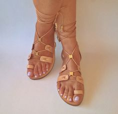 leather sandalsgladiator sandals.womens by chicbelledejour on Etsy