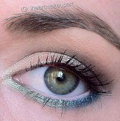 Everyday look using Urban Decay eyeshadow