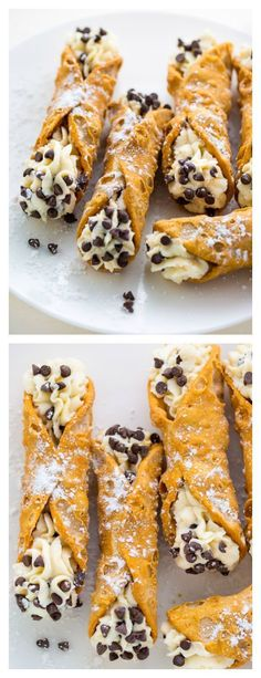 Simple cannoli recipe with 5 ingredients - baker by nature, baking easy breakfast candy cookies dinner drinks food appetizers food desserts food dinner food recipes turkey turkey dinner Easy Desserts, Delicious Desserts, Yummy Food, Dessert Recipes For Kids, Tasty, Easy Italian Desserts, Impressive Desserts, Baking Desserts, Italian Recipes