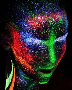 Neon Body Painting… – Hobbies paining body for kids and adult Tinta Neon, Photographie Art Corps, Uv Photography, Neon Lights Photography, Uv Makeup, World Of Color, Neon Lighting, Neon Colors, Face Art