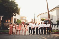 fashionable wedding party | photo: Andria Lindquist