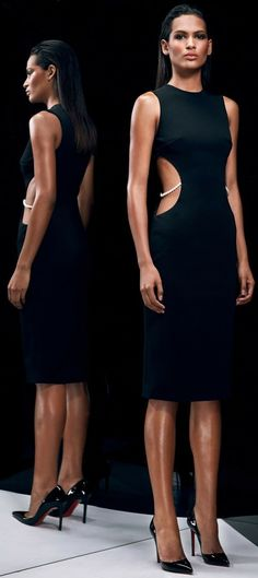 Love this ! Sexy but elegant... Cushnie Et Ochs Pre-Fall 2014