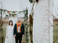 Ceremony scroll, feather. Earthy Winter Inspiration