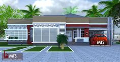 #Architecture #Nigerianbuildingdesigns #MastersTouchStudios #Homes #House #Nigeria #Beautiful #bungalow #Design #Exterior #Modern #HouseDesign #HomeDecor #HouseStyles #HouseExterior         4 Bedroom bungalow design. Parlours, dining, Kitchen, all bedrooms are en suite and well ventilated.     Minimum size of land is 100ft by 100ft.   Contact +2348032582385, +2348174058017 (Calls and Whatsapp) E mail: Masterstouchstudios1@gmail.com Verona, 3 Bedroom Floor Plan, Guest Toilet, Building Design, Traditional House, House Plans, Floor Plans, House Design, Mansions