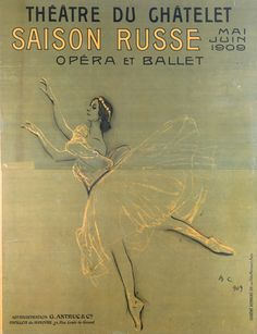 Ballet Russes Diaghilev