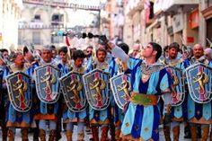 Moros y cristianos. Alcoi. Alicante.