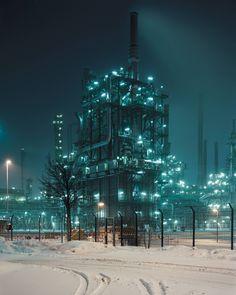 OMV Borealis Refinery on the German/Austrian Frontier