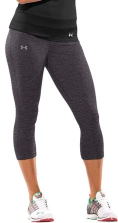 What I like to call my sausage pants!!! NO JOKE!  - Women's UA HeatGear® Touch Capri Pants