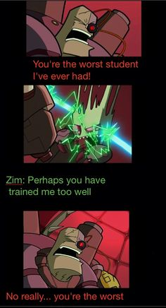 Invader zim funny quote