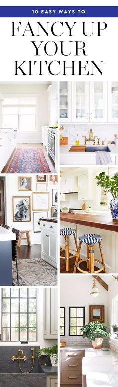 10 Truly Easy Ways to Fancy Up Your Kitchen