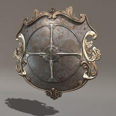 maya knight buckler - Shield02... by JCihelka