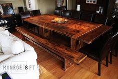 Reclaimed Wood Furniture | Coffee Tables | HD Threshing