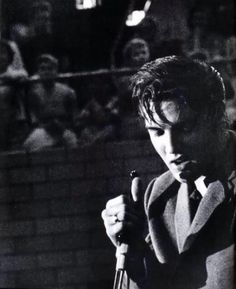 Elvis UD Fieldhouse Dayton, Ohio. May 27, 1956 - First show.