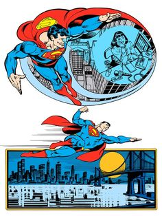 Superman by Jose Luis Garcia-Lopez from the 1982 DC Comics Style Guide