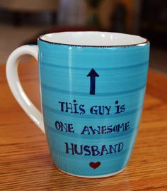 Funny Mug for Husband  Christmas Gift for by DaisyChainOnline