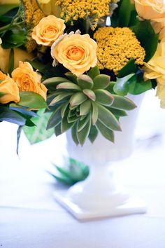 #centerpiece  Flowers: Karin\'s Florist - karinsflorist.com/ Photography: Marta Locklear - martalocklearphoto.com/ Day-Of Coordination: A Sweet Soiree - asweetsoiree.com/  Read More: http://www.stylemepretty.com/2012/02/27/washington-d-c-wedding-by-marta-locklear/