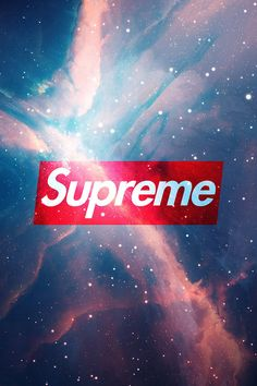 Supreme Universe Wallpaper. #supreme #hypebeast #universe #iphone #wallpaper