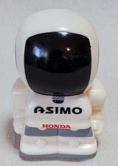 HONDA Asimo Coin Bank Figure Red Robot Android BANDAI JAPAN