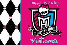 World of Pinatas - Monster High Personalized Poster, $16.99 (http://www.worldofpinatas.com/monster-high-personalized-poster/)