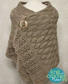 Free Rafael Knit pattern featured in Season 7 of Knit and Crochet Now! TV.