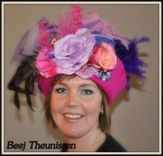 workshopresultaat carnavalshoed / vastelaoveshudje | foto's klanten met hoed | btstyling
