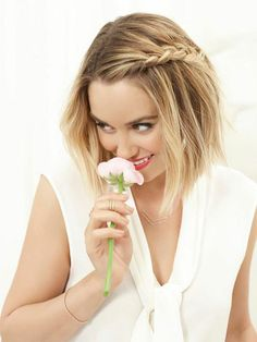 How to Get Lauren Conrad's Beachy Side Braid