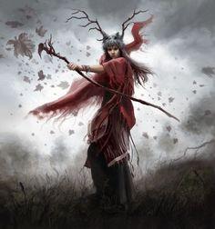 Shaman by *anotherwanderer on deviantART #oracle #witch #shaman: