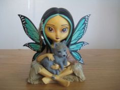 Jasmine Becket Griffith Spirit Maidens Fairy Figurine Hamilton Collection