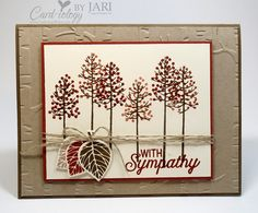 Thoughtful Sympathy by Jari - Cards and Paper Crafts at Splitcoaststampers